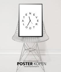 klok-poster-onlineposterkopen