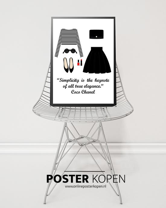 fashion posters l mooie posters en prints online l online poster kopen. Black Bedroom Furniture Sets. Home Design Ideas