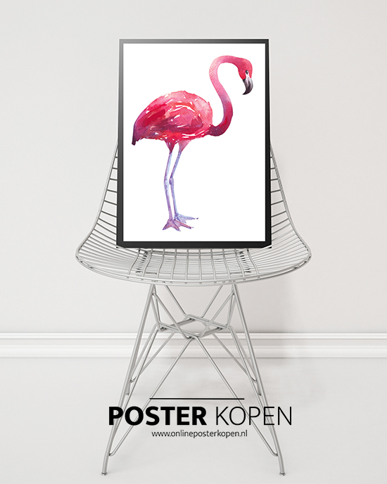 Interieurtrend: de flamingo! ♥