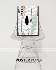 moderne- veren-poster