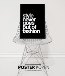 style-never-out-of-fashion-poster