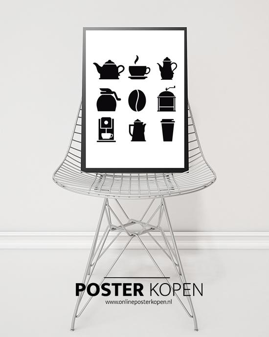 koffie-poster-keuken-onlineposterkopen.nl