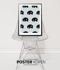olifant-poster-kinderkamer-poster-hippe poster-onlineposter-kopen