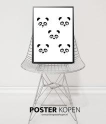 panda-poster-kinderkamer-poster-blauw-onlineposter-kopen