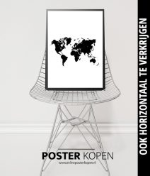 Wereld kaart Posters l grootste collectie l Online Poster Kopen