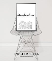 Steden Poster Amsterdam l grootste collectie l Online Poster Kopen