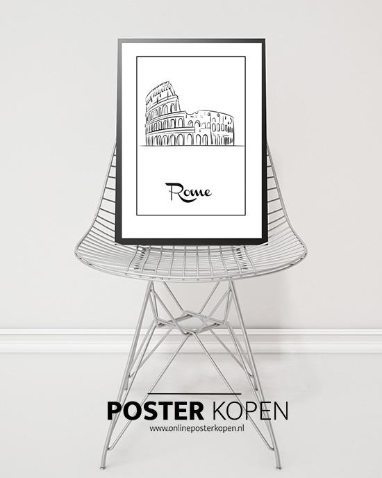 Steden Poster Rome l grootste collectie l Online Poster Kopen