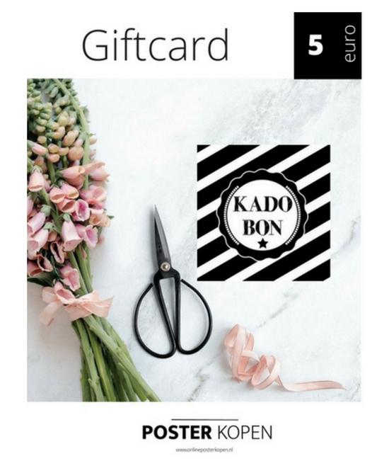 giftcard5euro-onlineposterkopen