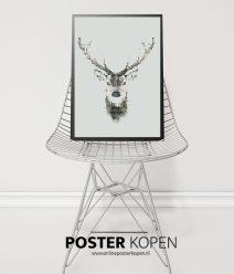 rendier-kerstposter-onlineposterkopen