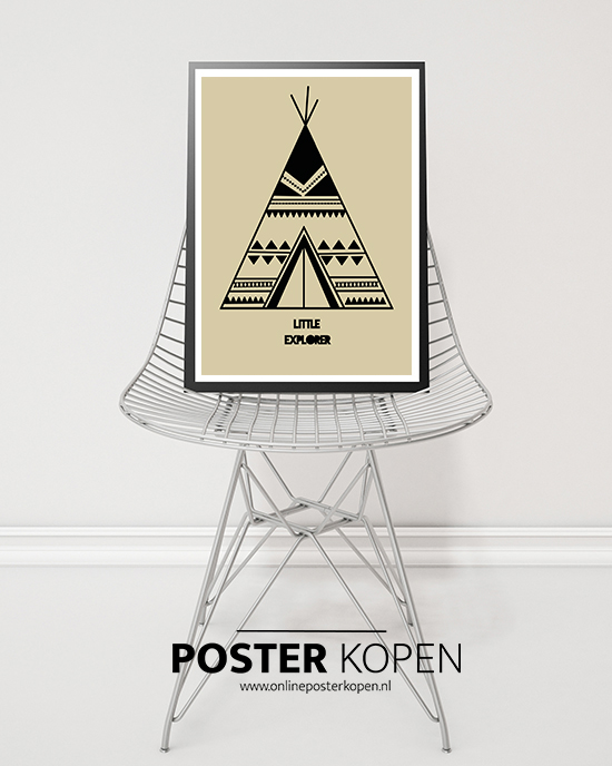 wigwam-poster-kinderposter-onlineposterkopen