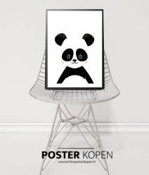 Poster-zwart-wit-beer-onlineposterkopen