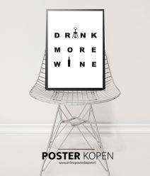 drink-more-wine-poster-onlineposterkopen