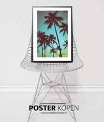 GREEN PALMS POSTER-onlineposterkopen-desenio