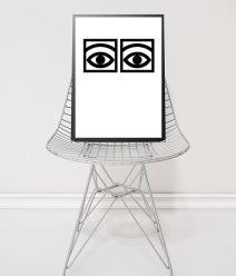 Olle Eksel One Eyes Poster l Online Poster Kopen