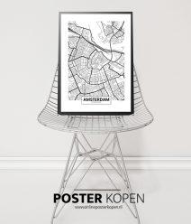 Amsterdam Steden poster -premium kwaliteit - onlineposter kopen