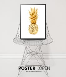 ananas poster -keuken print - online poster kopen