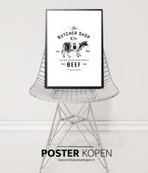 keuken poster-zwartwit poster-onlineposterkopen