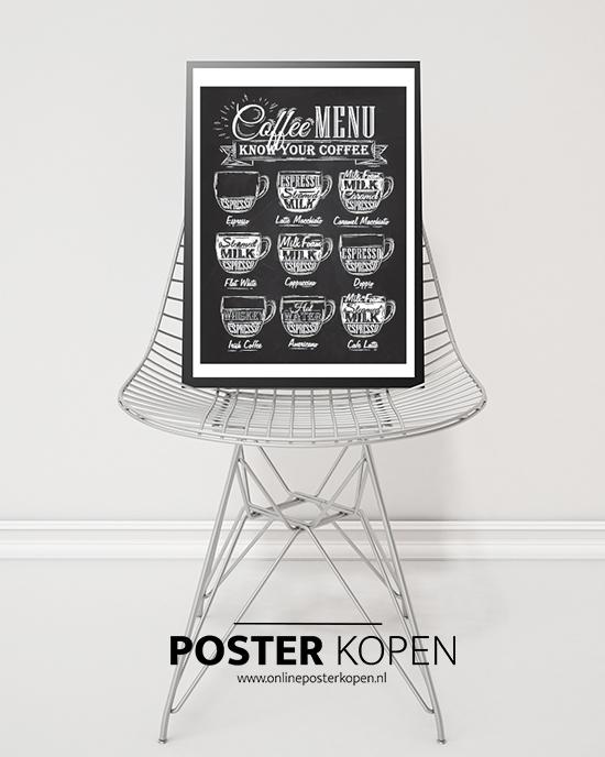 koffie poster-onlineposterkopen