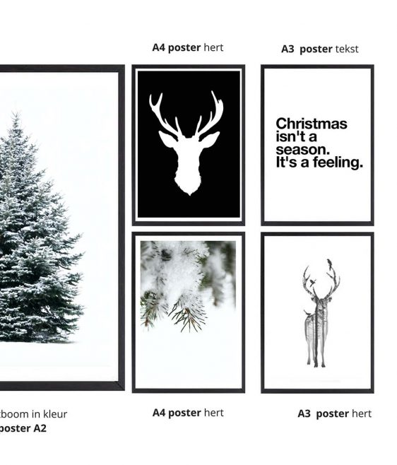 kerstposter-voordeelset