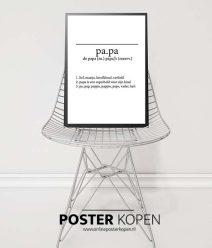 papa-poster-onlineposterkopen
