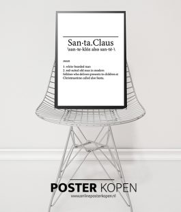 santa claus-download posterkerst-quote-poster
