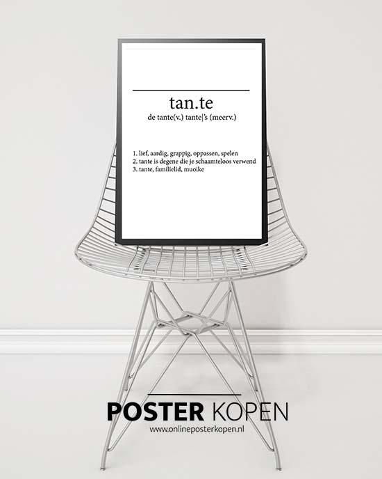 tante-poster-onlineposterkopen
