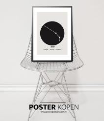 poster sterrenbeeld-ram-onlineposterkopen