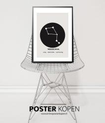 poster sterrenbeeld-weegschaal-onlineposterkopen