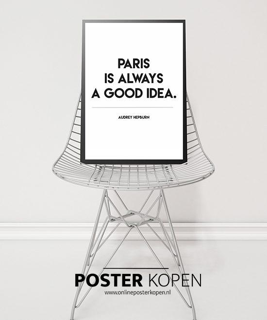 paris -tekstposter- onlineposterkopen-
