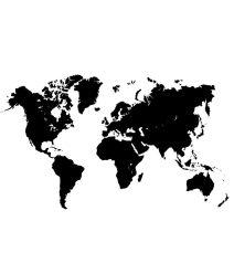 Wereldkaart poster- OnlinePoster Kopen