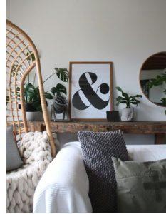 & tekenposter - zwart wit poster -onlineposterkopen