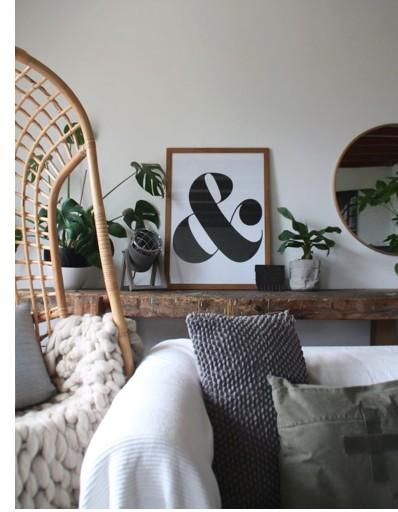 Ampersand ….. & teken poster