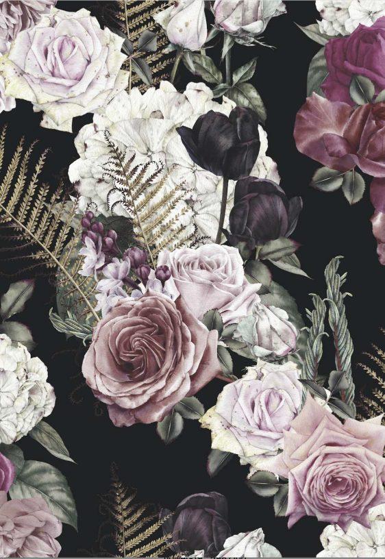 Bloemenpatroon poster- bloemenposter-online poster kopen