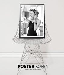 Vintage poster-zwart wit fotografie - online poster kopen