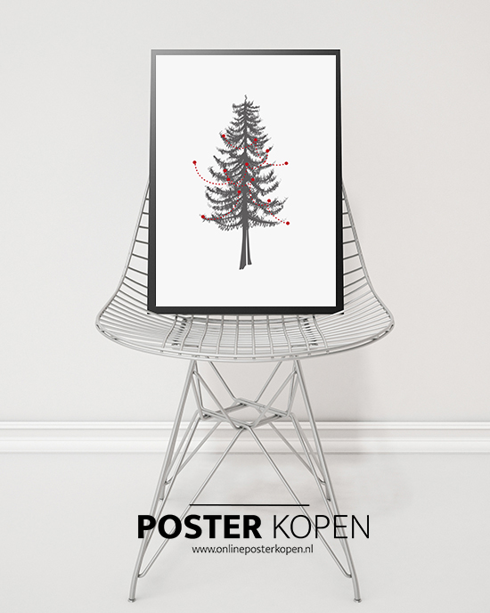 KERSTBOOM-ILLUSTRATIE-poster