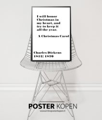 charles-dickens-kerst -poster