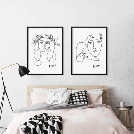 picasso poster -kunst poster- design poster- abstracte poster - online poster kopen