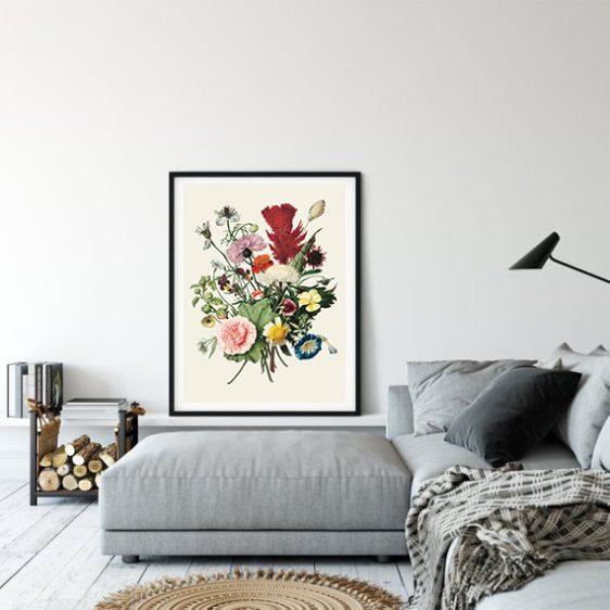 bloemen boeket poster-rijksmuseum- onlineposterkopen