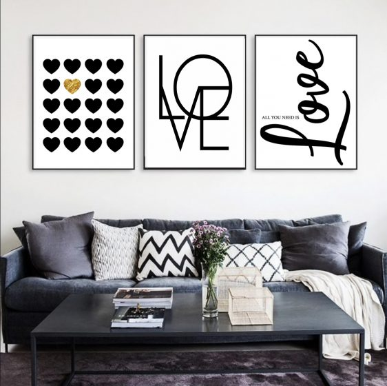 love poster - liefde is poster - liefdesposter