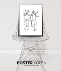 picasso poster-kunst poster- design poster- abstracte poster - online poster kopen