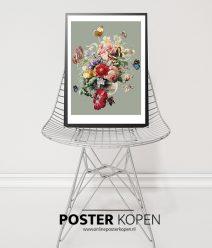 bloemen boekt poster-rijksmuseum- onlineposterkopen