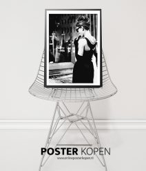 audrey-hepburn-breakfast a tiffany-filmster poster