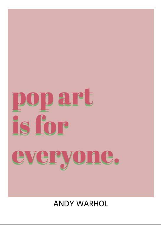 pop art poster - andywarhol poster - online poster kopen