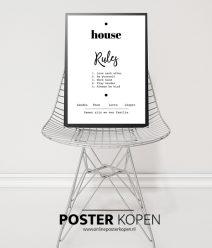 gepersonaliseerde poster - tekstposter - textposter-onlineposterkopen
