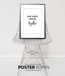 Badkamer poster- toiletposter-tekstposter-onlineposterkopen
