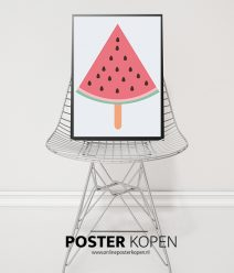 poster met ijsjes- ijsjes poster - kinderposter-onlineposterkopen