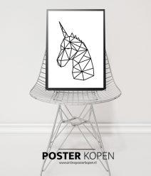 poster met unicorn- meisjes poster- kinderposter-onlineposterkopen
