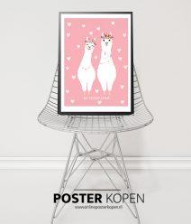 meisjes poster - kinderkamer poster - poster voor kinderen- online poster kopen