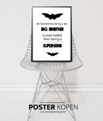 batman kinder poster - batman poster - online poster kopen