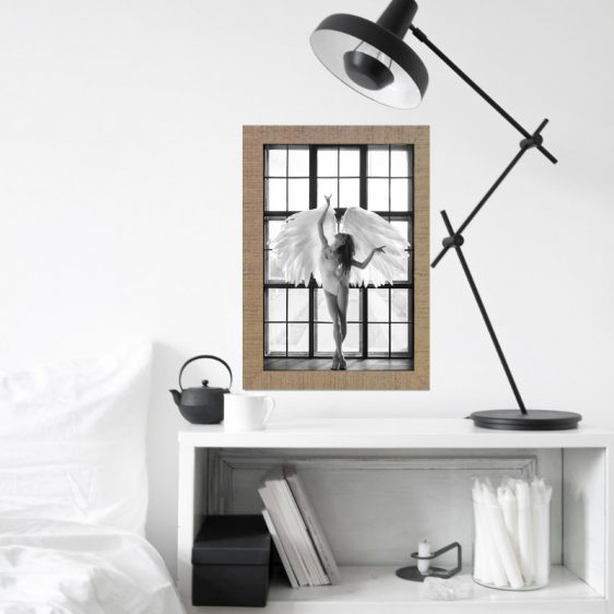 Scandinavische poster - zwart wit poster - Online Poster Kopen